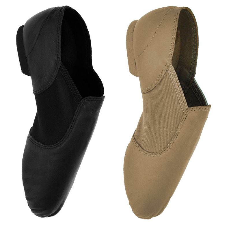 capezio ej2 slip on jazz shoe split sole starlite direct