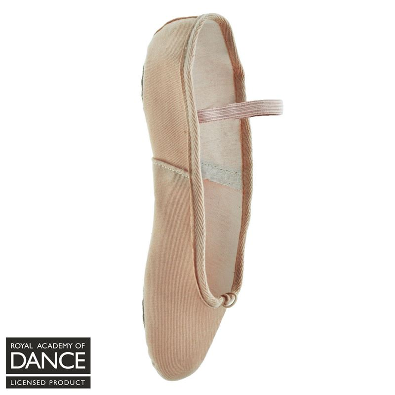 4175d2c5e506 Freed RAD Approved Aspire Canvas Ballet Shoe